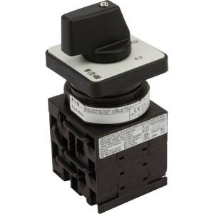 Eaton Dahlanderschakelaar 2N 1DR - T048440E | 3 NO | 6,5 kW | Inbouw | Front IP65