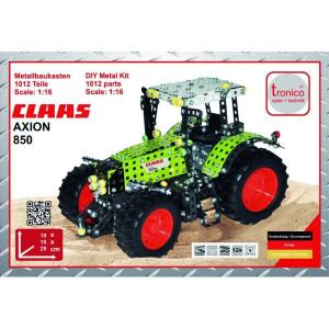 Tronico Claas Axion 850 - T10060 | 1012 onderdelen | Van metaal, bouwpakket
