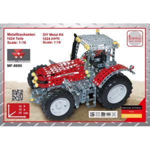 Tronico MF 8690 - T10080 | 1024 onderdelen | Van metaal, bouwpakket | Massey Ferguson