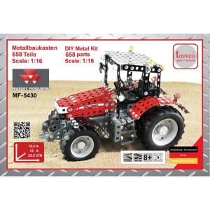 Tronico MF 5430 - T10082 | 658 onderdelen | Van metaal, bouwpakket | Massey Ferguson