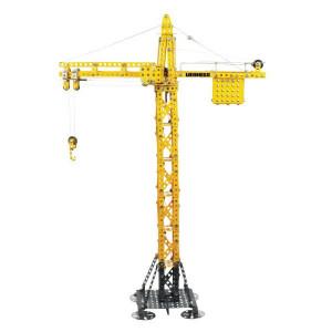 Tronico Liebherr Kraan - T10099 | 1002 onderdelen | Van metaal, bouwpakket | 550x615x140 mm | Liebherr