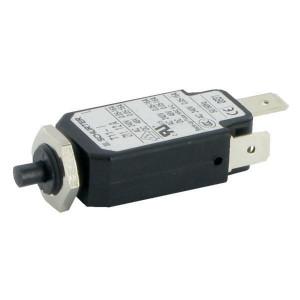Thermische beveiliging 10A - T1121110A   Vlaksteker, 6.3 x 0.8   24V DC / 240V AC
