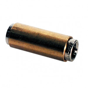 Insteekkoppeling 6mm - T770001 | Voor kunststof leidingen | 6 mm