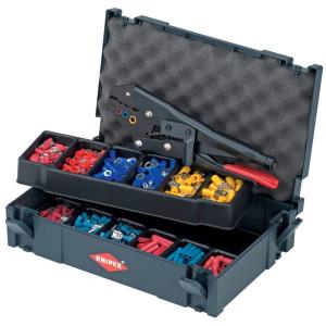 Knipex Krimp-assort. v. kabelverbind. - TA979000