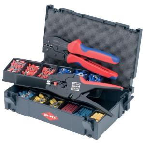 Knipex Krimp-assort. v. kabelverbind. - TA979022
