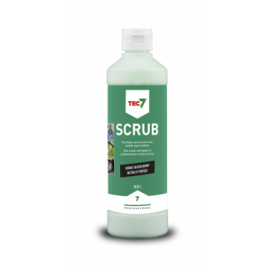 Tec7 Scrub, flacon, 500 ml - 478501000 | Krachtige schuurcreme voor gladde oppervlakken