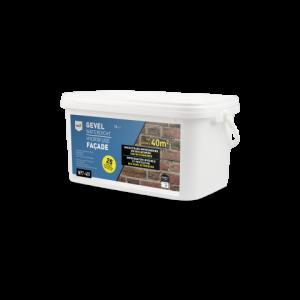 Tec7 WP7-401 Gevel Waterdicht, rechthoekige emmer, 5 liter - 602050000 | Onzichtbare impregnering voor buitenmuren