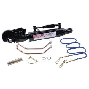 Hydr.Topstang gaffelkop+vangh. - TCVNA3563180K2 | 0,1 m/sec max. | 250 bar | 200 bar | 505 mm | 180 mm | 20 bodemzijde | cat. II stangzijde | 25,7 mm