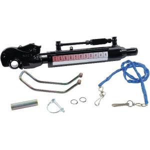 Hydr.Topstang gaffelkop+vangh. - TCVNA3570250K3 | 0,1 m/sec max. | 250 bar | 200 bar | 605 mm | 250 mm | 25 bodemzijde | cat. III stangzijde