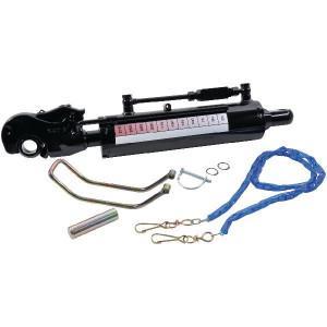 Hydr.Topstang gaffelkop+vangh. - TCVNA4090250K3 | 0,1 m/sec max. | 250 bar | 200 bar | 640 mm | 102 mm | 250 mm | 25 bodemzijde | cat. III stangzijde