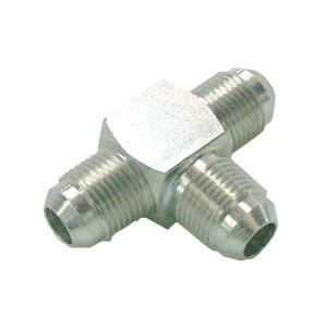"Burnett & Hillman T-koppeling M 7/16 UNF - TJ07MBH | 450 bar | 7/16"" JIC"