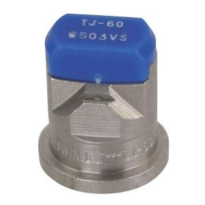 TeeJet Dubbele spleetdop TJ 65° blauw RVS - TJ606503VS | 2 4 bar | 12 mm | 65°