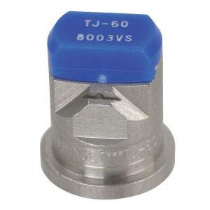 TeeJet Dubbele spleetdop TJ 80° blauw RVS - TJ608003VS | 2 4 bar | 12 mm | 80°