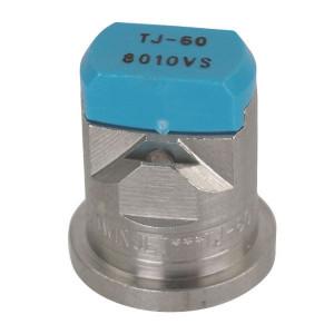 TeeJet Dubbele spleetdop TJ 80° lichtblauw RVS - TJ608010 | 2 4 bar | 12 mm | Lichtblauw | 80°