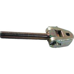 Spindel+gaffelk. M30x3,5L 22,0 - TL3035220LKR | Verzinkt | M30 x 3,5 | 190 mm