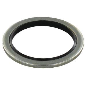 Usit ring M28 - TM128 | Geel gepassiveerd | 28,6 mm | 36,2 mm | M 28 x 1,5 mm | ST/NBR