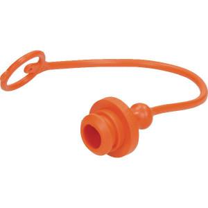 Faster Stofplug oranje voor 1/2 NV - TM12LA | olie bestendig PVC | Oranje