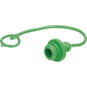Faster Stofplug groen voor 1/2 NV - TM12LV | olie bestendig PVC