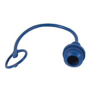 "Faster Stofplug NV-F 3/8"" PVC blauw - TM38B | 3/8"""