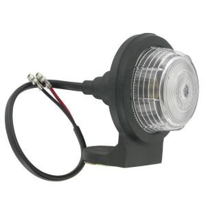 Britax Markeringslamp - TOR2460 | Lamp: 1 x 12 V 5 W | Lampglas helder | 12/24 V