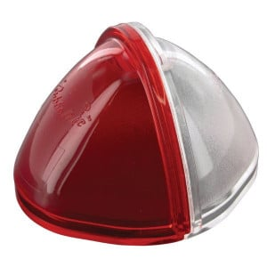 Rubbolite Lampglas 1744A rood/wit - TOR2676A | TOR2676 | rood / blanc
