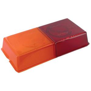 Rubbolite Lampglas geel/rood - TOR2681
