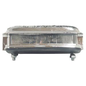 Kentekenlamp - TOR4528 | 116 mm | Zilver | 5 W