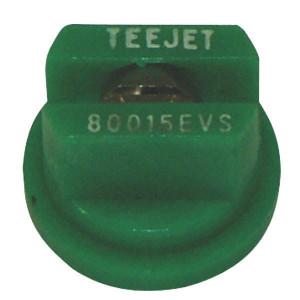TeeJet Spleetdop TP 80° groen RVS - TP80015EVS | Zeer goede slijtvastheid | 2 4 bar | 8 mm | 80°