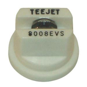 TeeJet Spleetdop TP 80° wit RVS - TP8008EVS | Zeer goede slijtvastheid | 2 4 bar | 8 mm | 80°