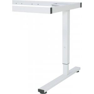 Werktafel, in hoogte verstelbaar d.m.v. rasterverstelling per 20 mm