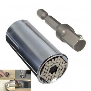 Universele dop voor moeren en bouten, Gator Grip, 7-19mm , inclusief boormachine adapter - 3130