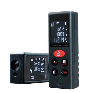Digitale Laser Afstandsmeter, 40 meter afstand, super nauwkeurig, inclusief A-merk batterijen - 3136