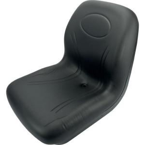 Milsco Stoel PVC zwart - TS19210 | 476 mm | 478 mm