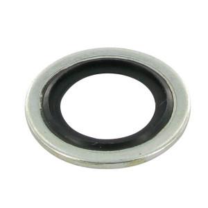 Usit ring 8,5 x 13,4 x 1,0 - TT85X134X1 | Geel gepassiveerd | 8,7 mm | 13 mm | ST/NBR