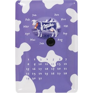 "Tractorfreak Bord ""Milka kalender"" - TTF0145 | Tin (Metaal)"