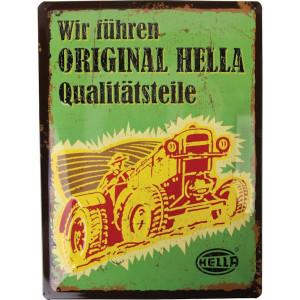 Tractorfreak Bord Hella Classic - TTF2191 | 300x400 mm | Tin (Metaal)