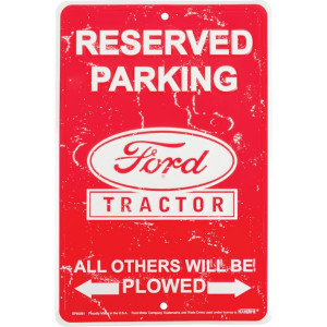 Tractorfreak Bord Ford Reserved parking - TTF4123 | Aluminium | 200x300 mm