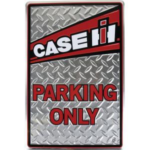 "Tractorfreak Bord ""Case IH parking only"" - TTF5115 | Aluminium | Case IH | 305x455 mm"