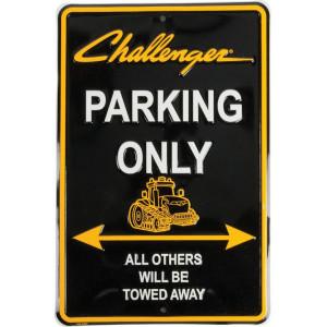 Tractorfreak Bord Challenger Parking only - TTF7110 | Aluminium | Challenger | 200x300 mm