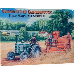 Tractorfreak Bord Field Marshall Series II - TTF9143 | Tin (Metaal) | Field Marshall | 300x400 mm
