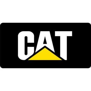 Tractorfreak Bord Caterpillar Logo - TTF9160 | Aluminium | Caterpillar | 150x300 mm