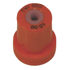 Albuz Venturi kegeldop TVI 80° oranje keramisch - TVI8001 | 5 25 bar | 11 mm | Keramisch | Oranje | 80°