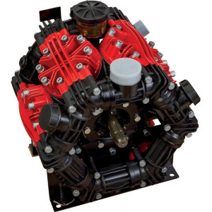 UDOR Pomp ZETA 350 TS 2C - UD819900 | 345 l/min | 20 bar | 12,8 kW | 17,4 Hp | 550 Rpm | 550 omw./min. | ZETA 350 TS 2C | 290 Inch PSI