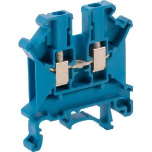 Phoenix Contact Aansluitklem, blauw, Phoenix - UK3NBU | 42,5 mm | 5,2 mm | 47 mm | 4 mm² | 2,5 mm² | 2,5 mm²