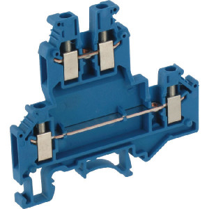 Phoenix Contact 2-etage klem, blauw, Phoenix - UKKB3BU | 5,2 mm | 62 mm | 4 mm² | 2,5 mm² | 1,5 mm²