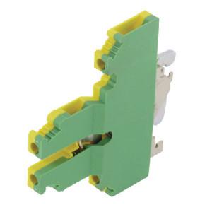 Phoenix Contact 2-etage-aardklem, Phoenix - UKKB5PE | 6,2 mm | 62 mm | 4 mm² | 4 mm² | 2,5 mm²