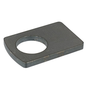 Borgplaat - UNLP038 | Universeel toepasbaar | 38,5 mm