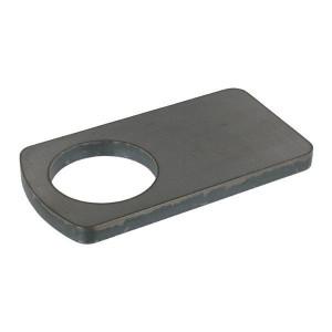Borgplaat - UNLP055 | Universeel toepasbaar | 55,5 mm | 150 mm