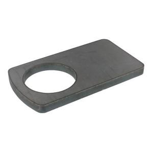 Borgplaat - UNLP070 | Universeel toepasbaar | 70,5 mm | 180 mm | 100 mm