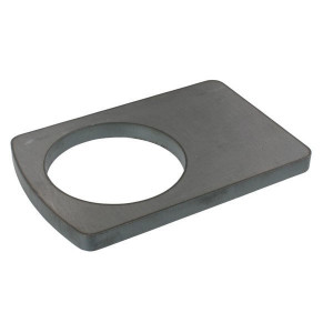 Borgplaat - UNLP090 | Universeel toepasbaar | 90,5 mm | 180 mm | 120 mm